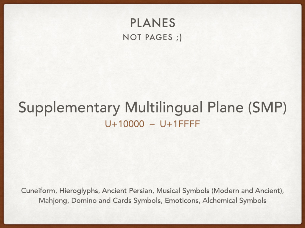 NOT PAGES ;) PLANES Supplementary Multilingual ...