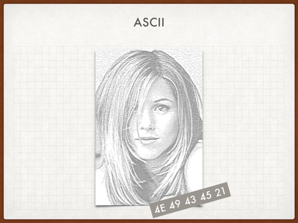 ASCII 4E 49 43 45 21