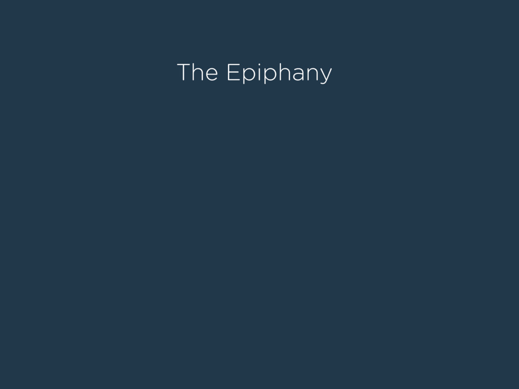 The Epiphany