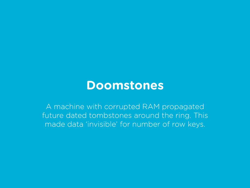 Doomstones A machine with corrupted RAM propaga...