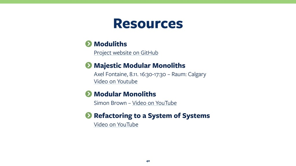 Resources 40 Moduliths Project website on GitHu...