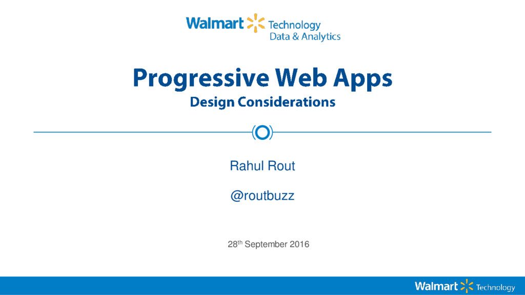 Rahul Rout 28th September 2016 @routbuzz
