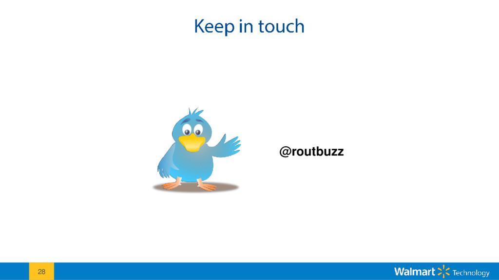 28 @routbuzz