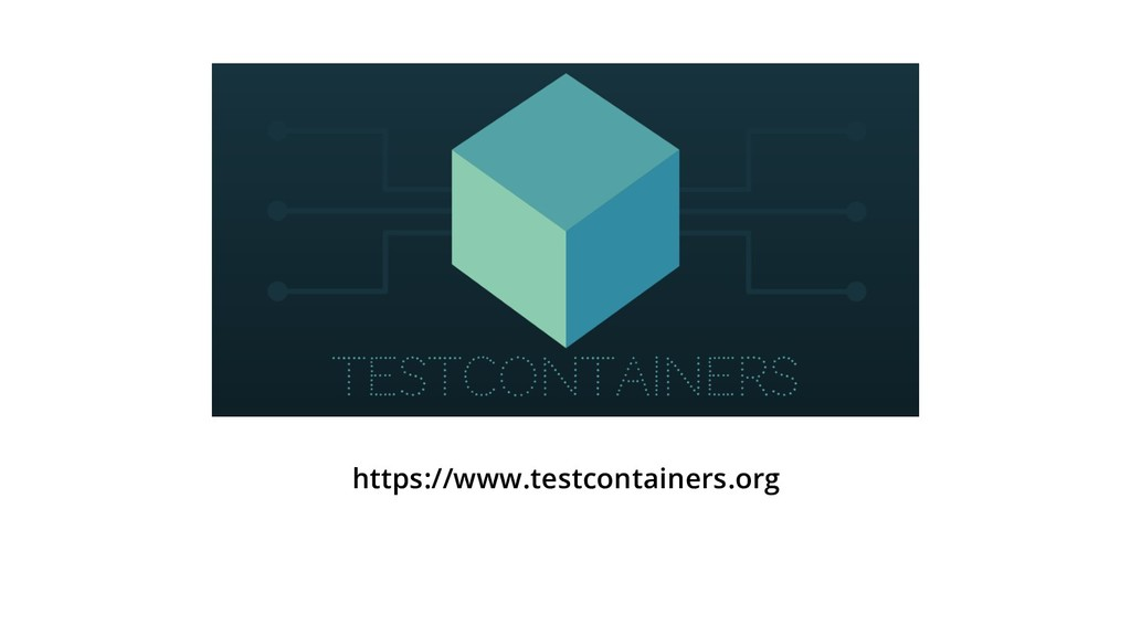 https://www.testcontainers.org