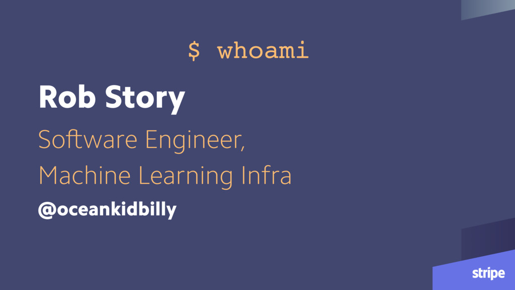 Rob Story Software Engineer, Machine Learning I...