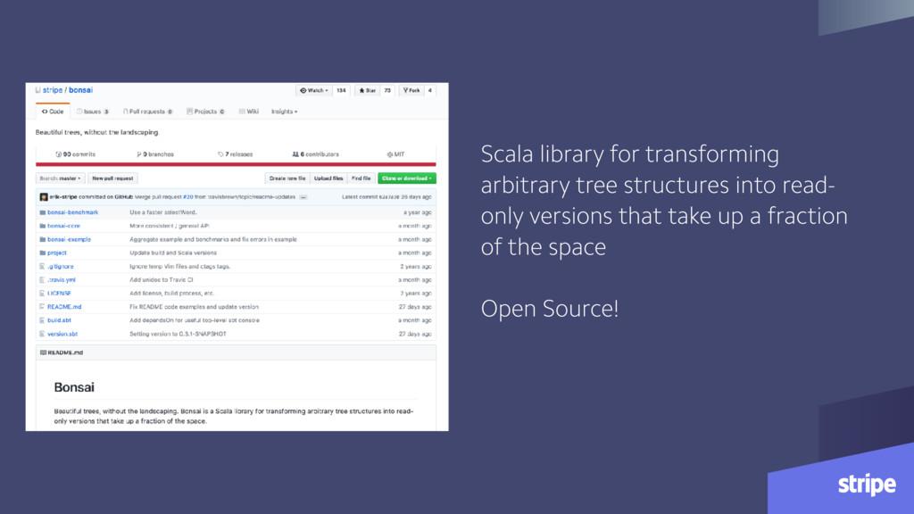Scala library for transforming arbitrary tree s...