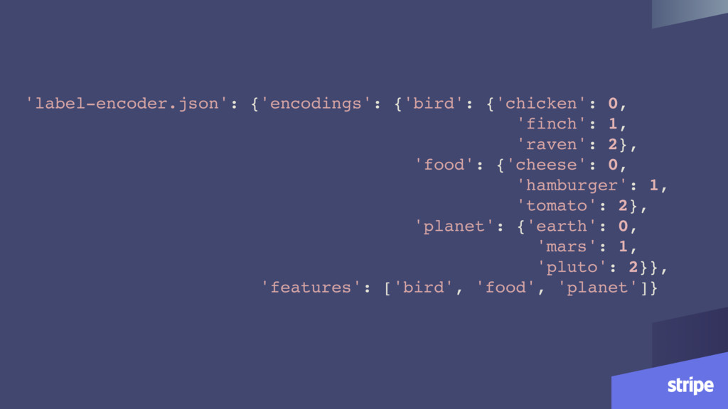 'label-encoder.json': {'encodings': {'bird': {'...