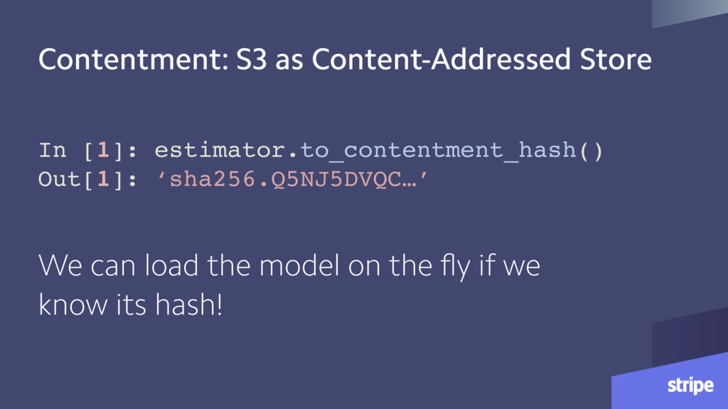 Contentment: S3 as Content-Addressed Store In [...