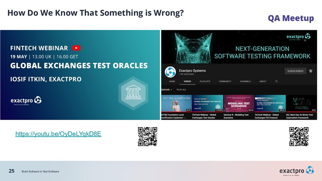 25 Build Software to Test Software How Do We Kn...