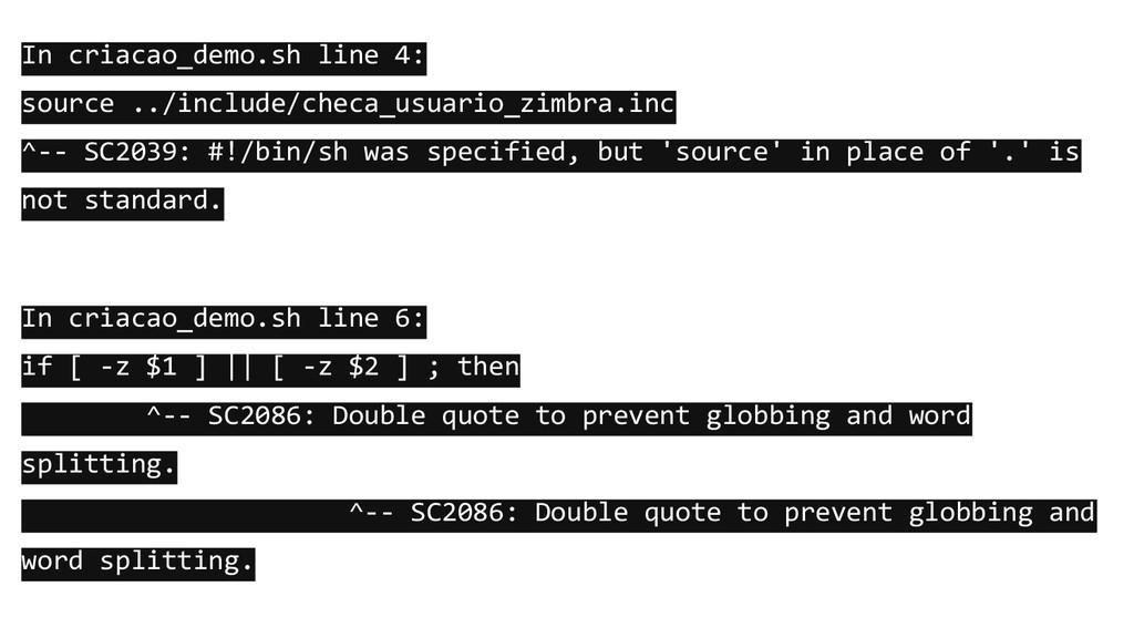 In criacao_demo.sh line 4: source ../include/ch...