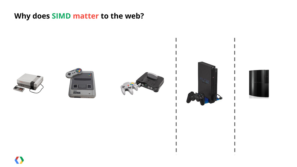 Why does SIMD matter to the web?