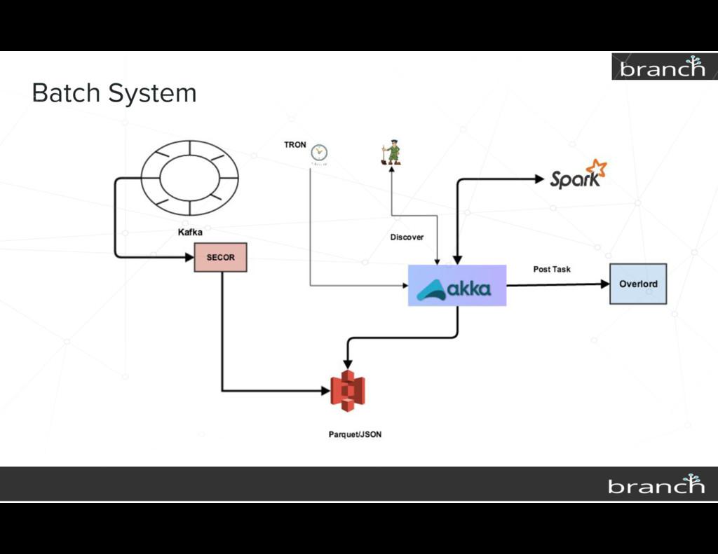 Batch System