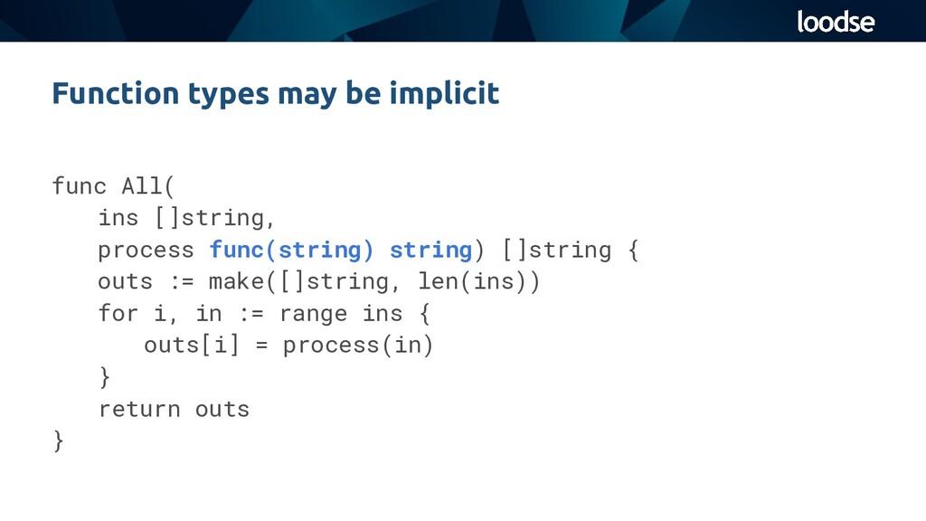 func All( ins []string, process func(string) st...