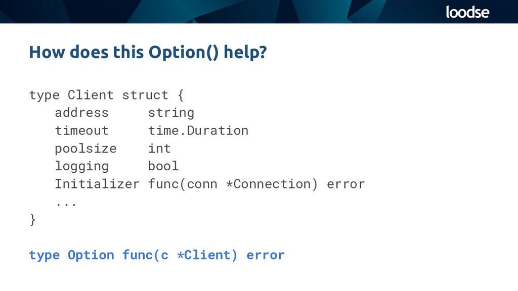 type Client struct { address string timeout tim...