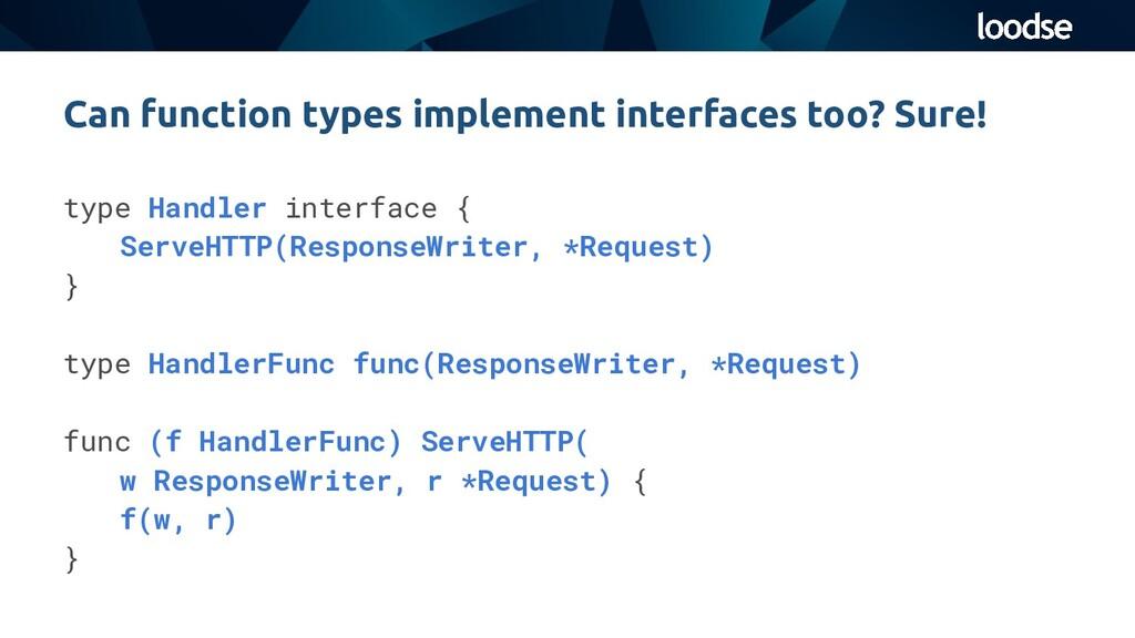 type Handler interface { ServeHTTP(ResponseWrit...