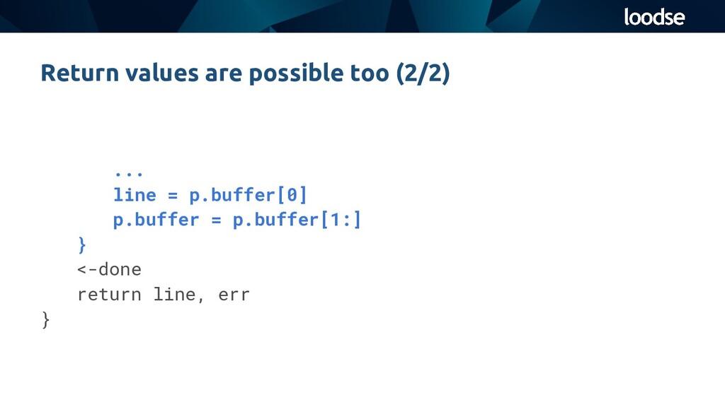... line = p.buffer[0] p.buffer = p.buffer[1:] ...