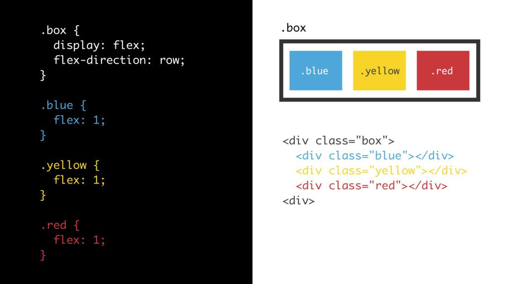 ".box .blue .yellow .red <div class=""box""> <div ..."