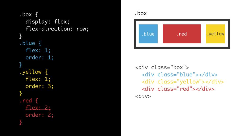 ".box .blue .red .yellow <div class=""box""> <div ..."