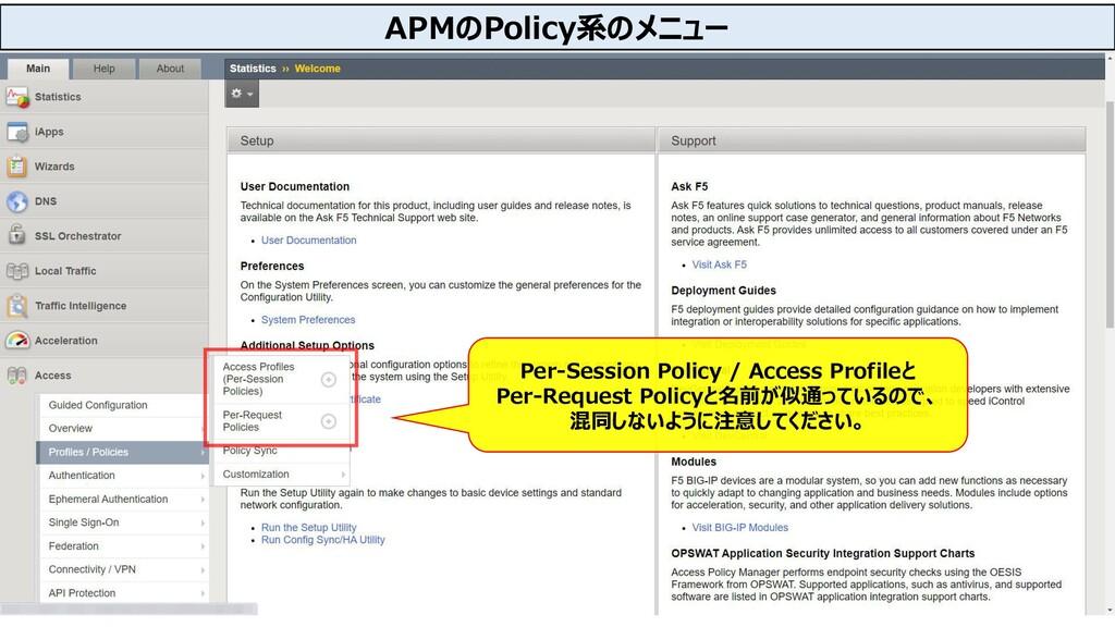 20 Per-Session Policy / Access Profileと Per-Req...