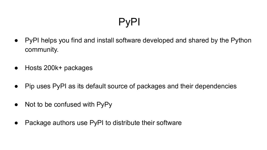 PyPI ● PyPI helps you find and install software...