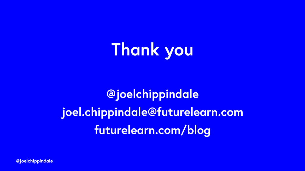 @joelchippindale Thank you @joelchippindale joe...