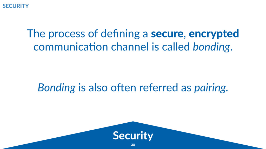 Broadcast 30 Security SECURITY The process of d...