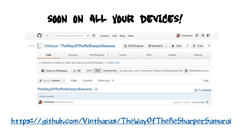 https://github.com/Vintharas/TheWayOfTheReSharp...