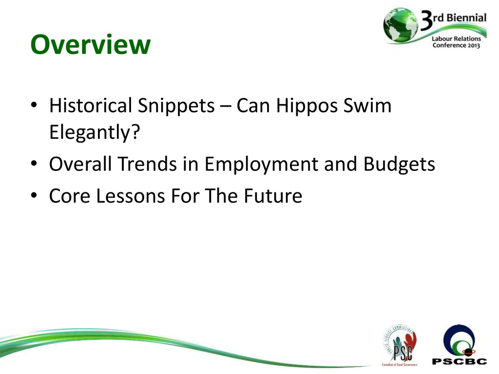 Overview • Historical Snippets – Can Hippos Swi...