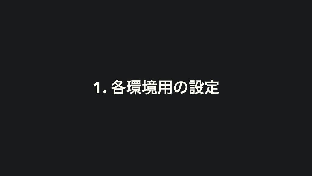 1. ֤ڥ༻ͷઃఆ