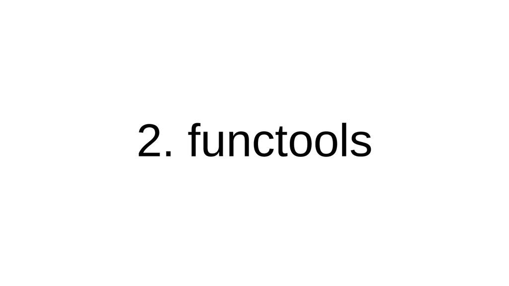 2. collectfunctools