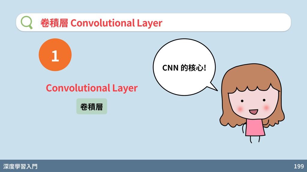 深度學習入門 199 卷積層 Convolutional Layer Convolutiona...