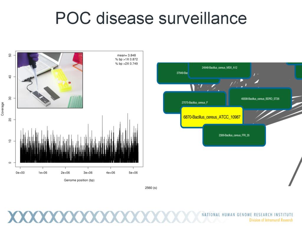 POC disease surveillance