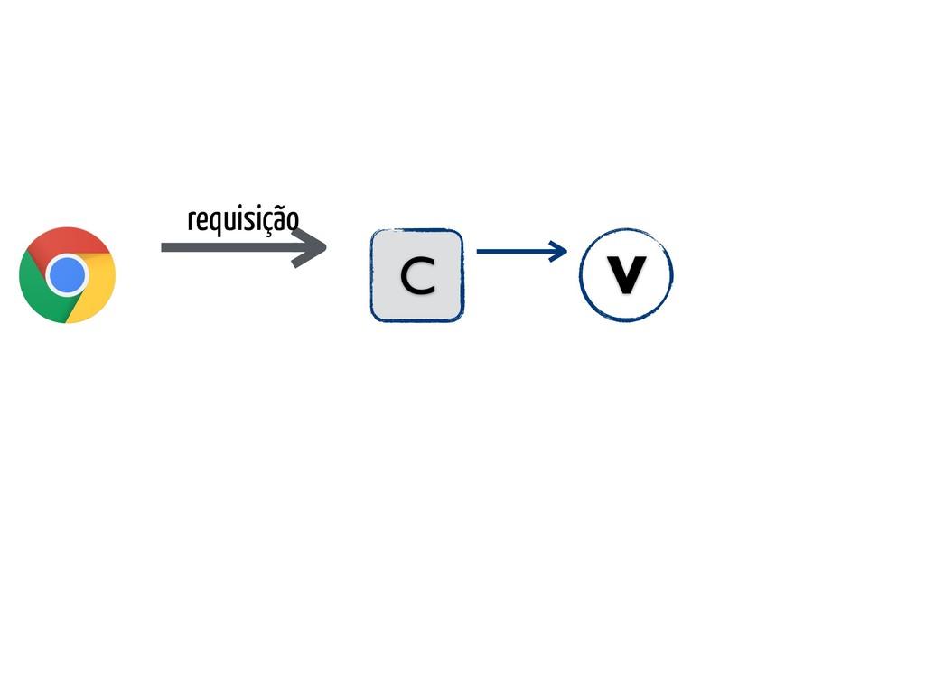 requisição C V