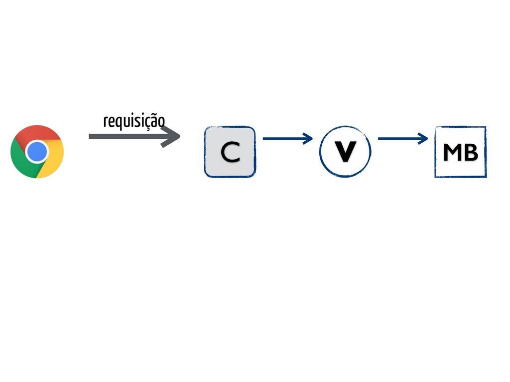 requisição C MB V