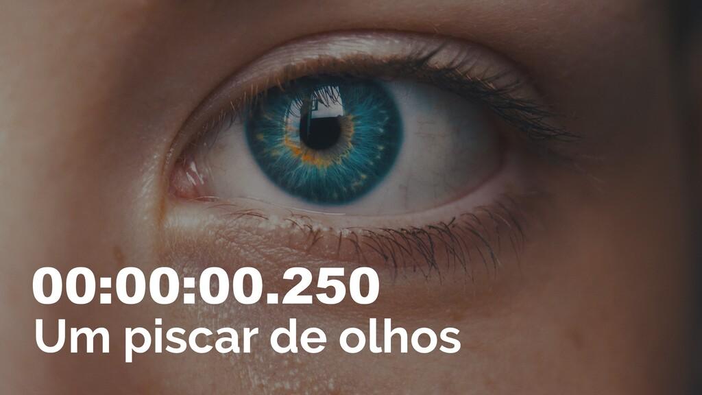 00:00:00.250 Um piscar de olhos