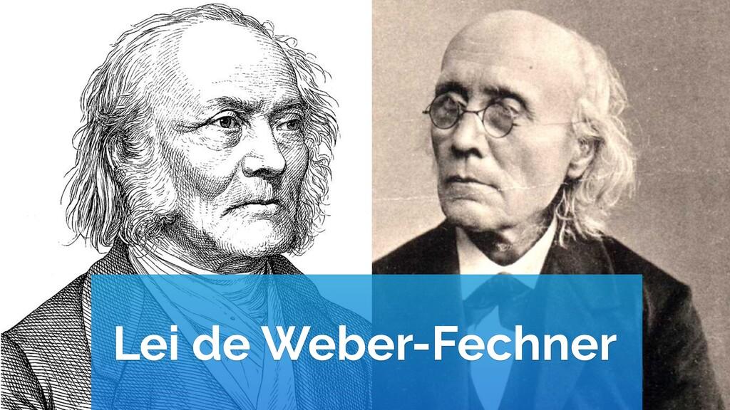 Lei de Weber-Fechner