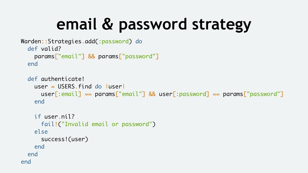 email & password strategy Warden::Strategies.ad...