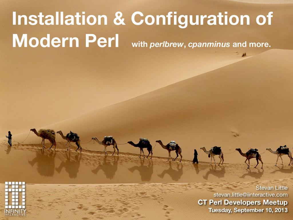 Installation & Configuration of Modern Perl Stev...