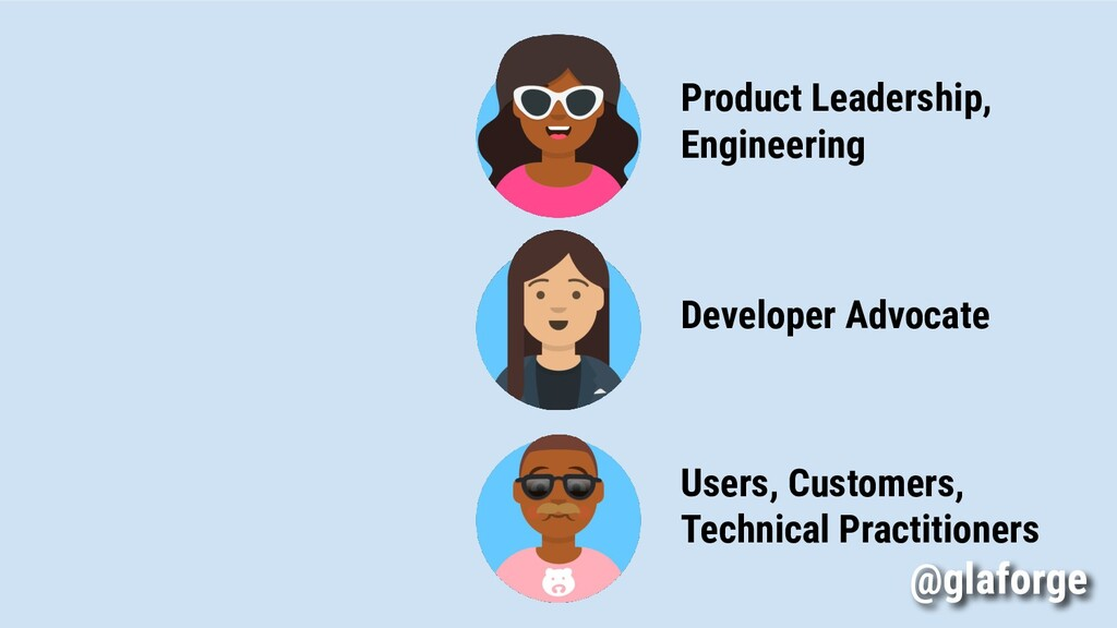 Product Leadership, Engineering Users, Customer...