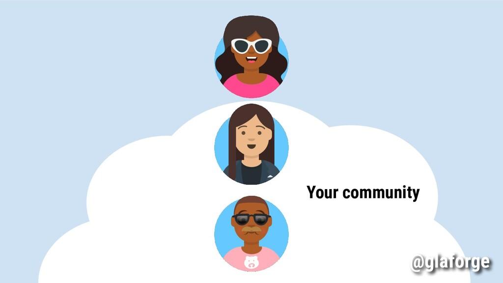 Your community @glaforge