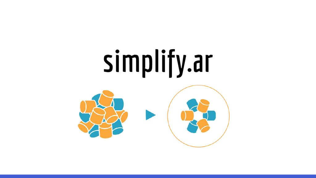 simplify.ar