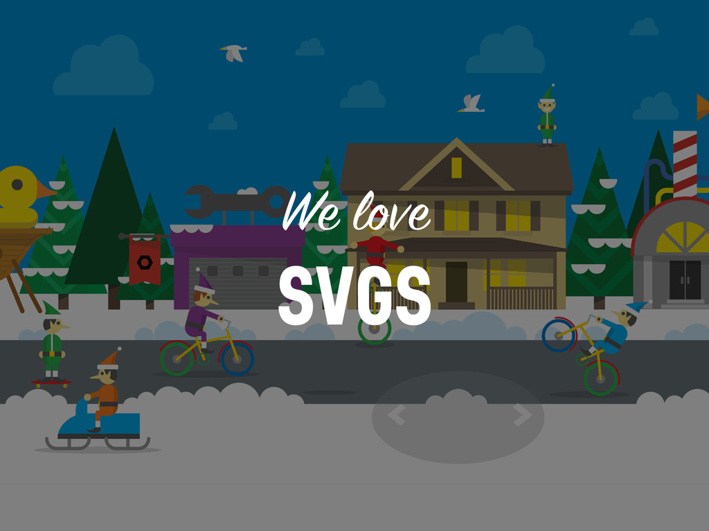 We love SVGS