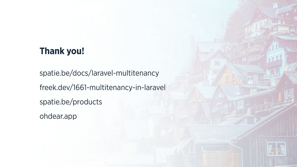 Thank you! spatie.be/docs/laravel-multitenancy ...