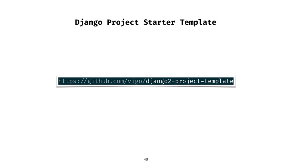 Django Project Starter Template !48 https: //gi...
