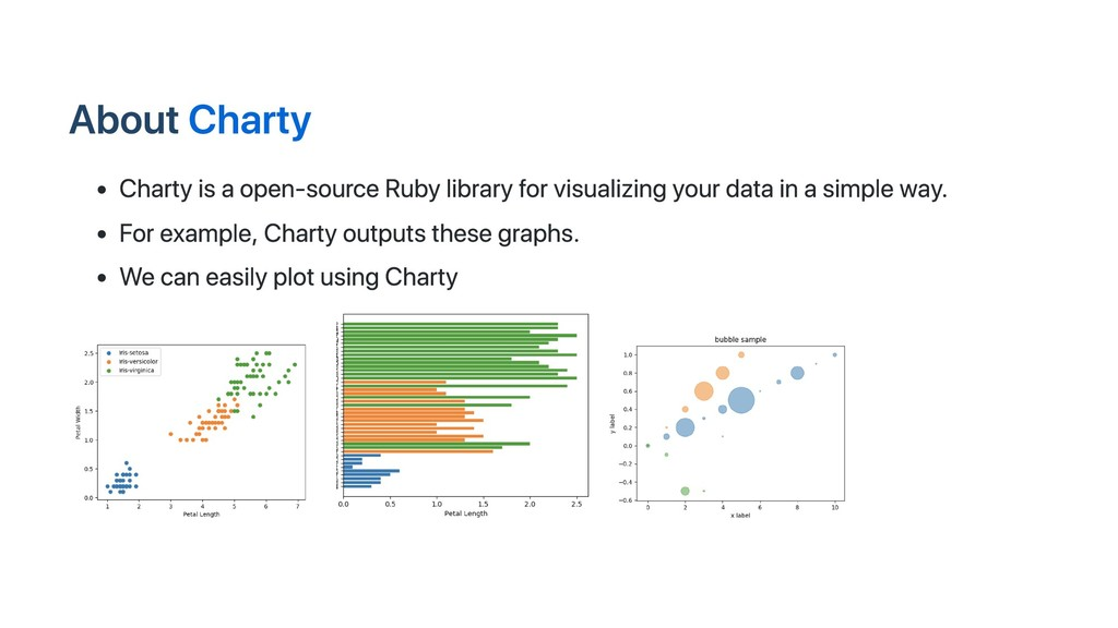 About Charty Charty is a open-source Ruby libra...