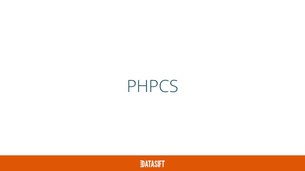PHPCS