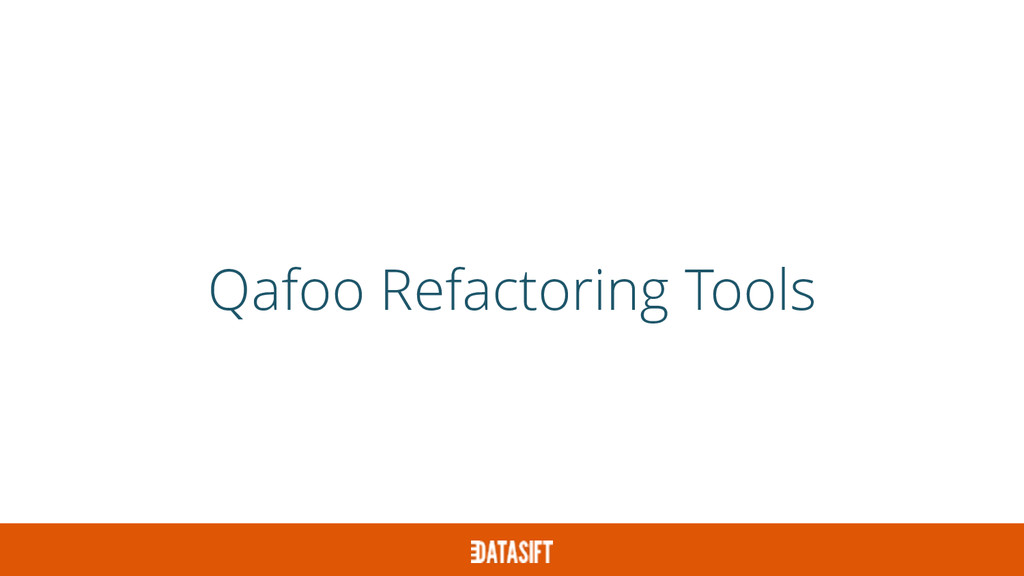 Qafoo Refactoring Tools