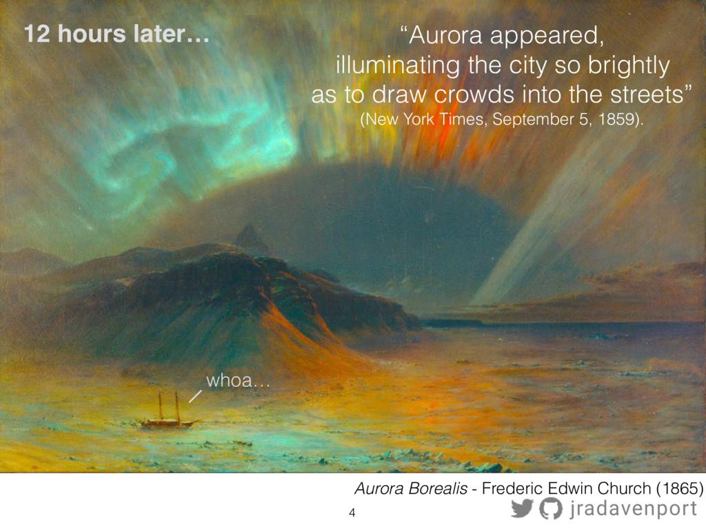 12 hours later… 4 Aurora Borealis - Frederic Ed...