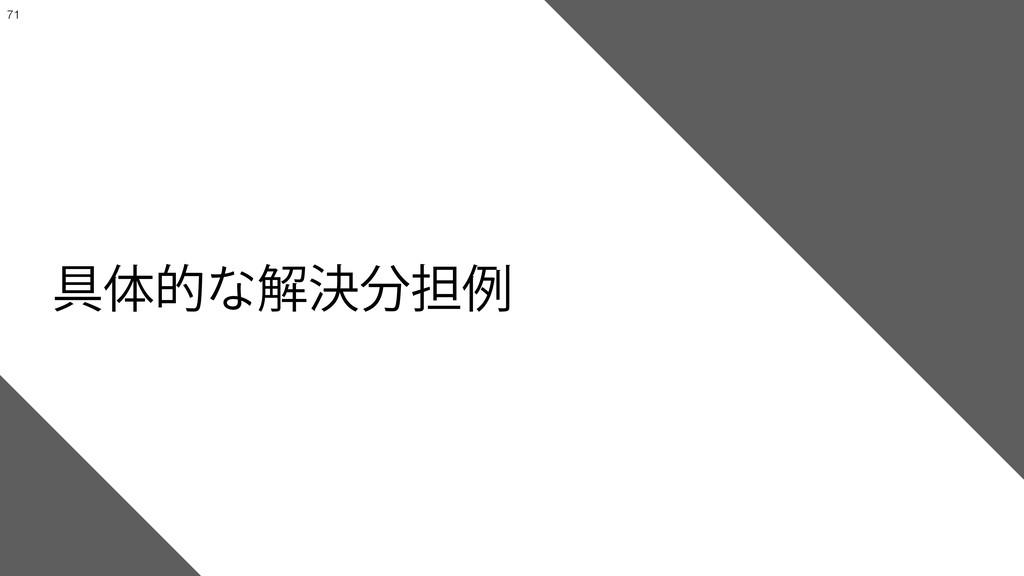 ͠ͳ͍͍ͯ͘69Λ࣮ݱ͢ΔͨΊͷ*P5αʔϏεઃܭʛ໊ݹฤ !71 ۩ମతͳ...