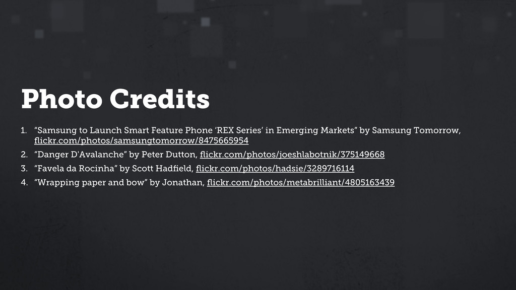 "Photo Credits 1. ""Samsung to Launch Smart Featu..."